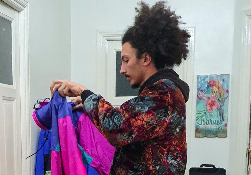 We Thrifting store owner Mohamed Atlas